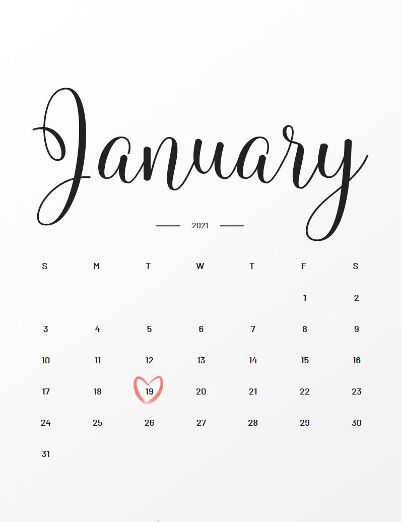19. Januar 2021