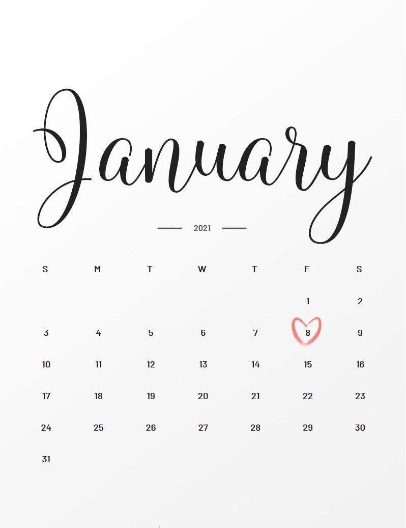 Januar 2021 Baby