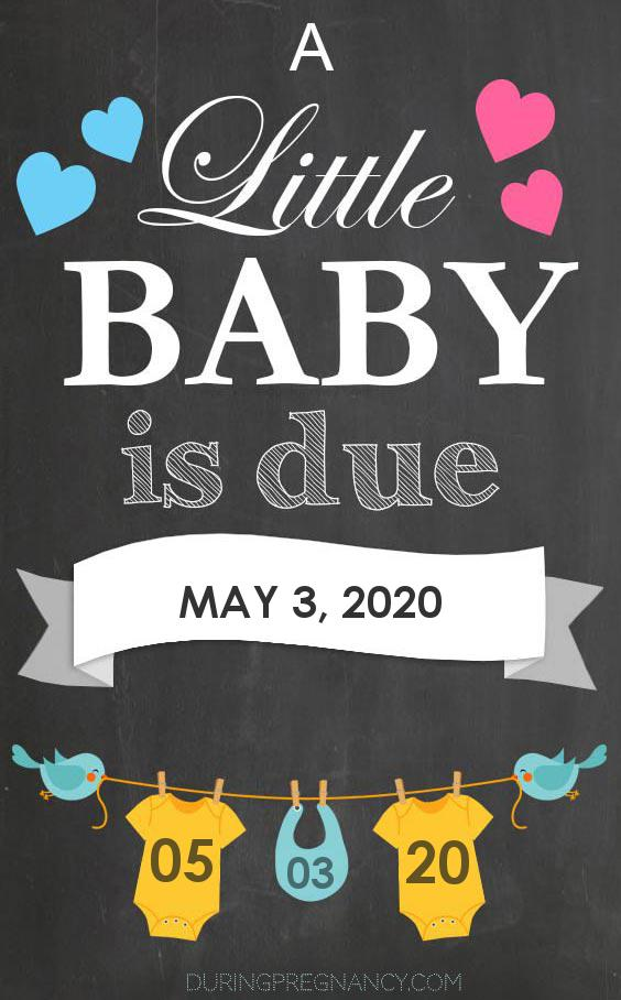 Due Date: May 3 - Announcement Image